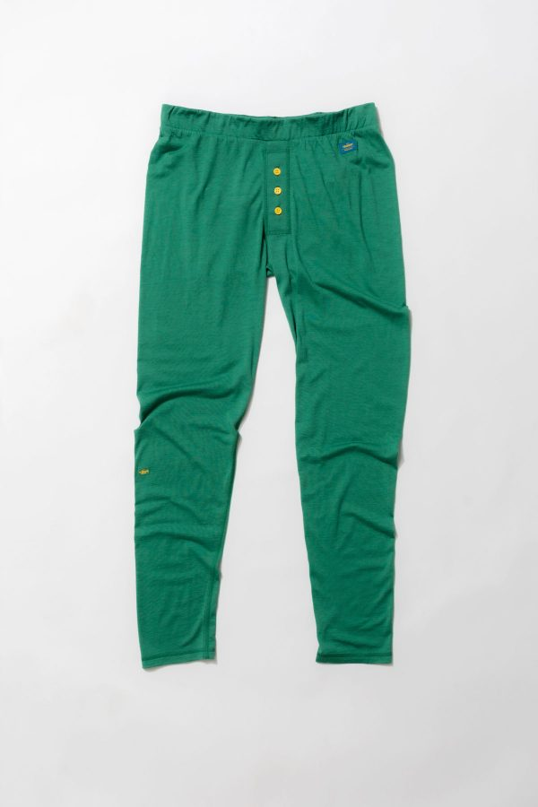 Green Long John Buttons